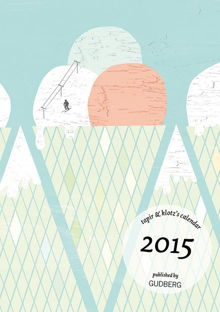 tapir & klotz »The Illustrated Pocket Calender 2015«