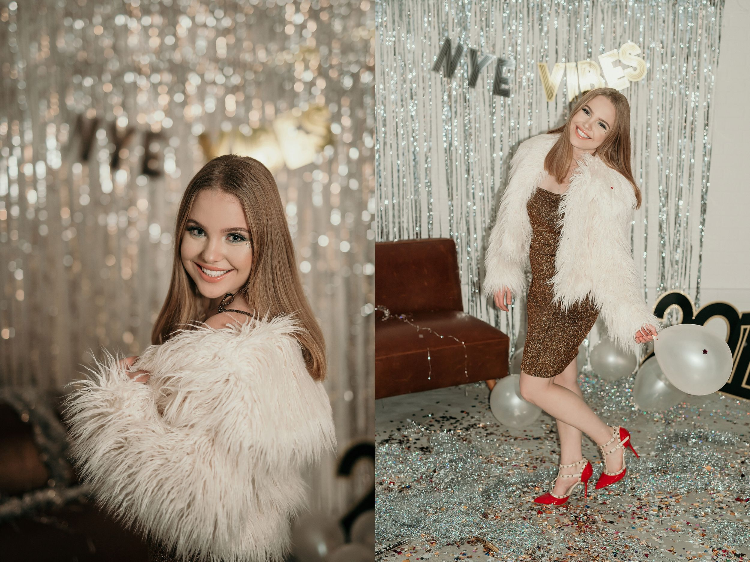 New Years Eve makeup, outfit & party decor ideas | Brianna ...