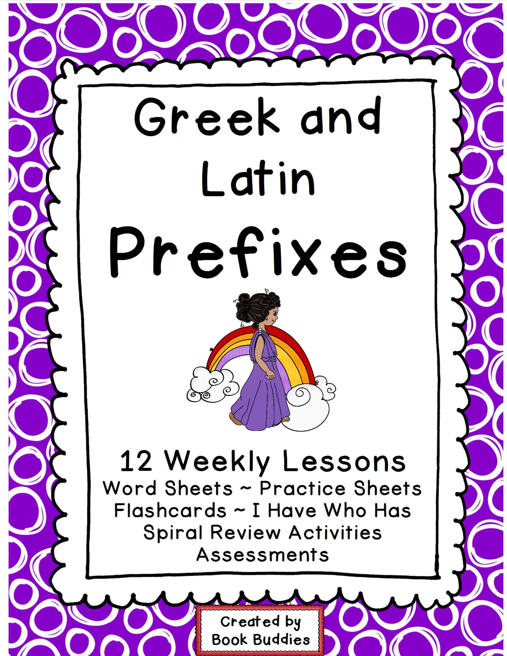 Prefixes Greek And Latin