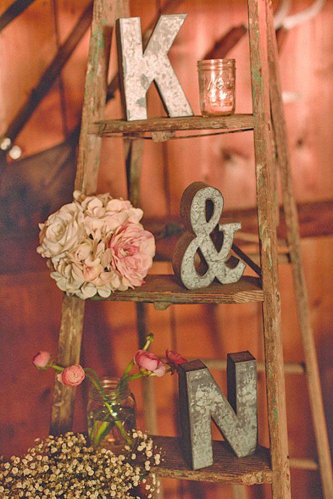 Shabby & Chic Vintage Wedding Decor Ideas Vintage weddings Shabby and Weddings