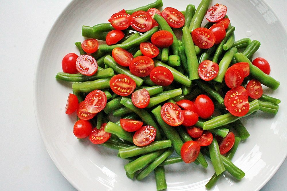 Green Bean + Tomato Summer Salad - the nutritional epiphany