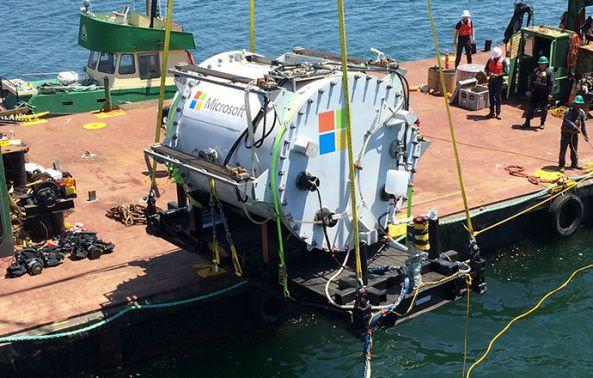 Project Natick de #Microsoft para colocar servidores bajo el mar  Ordenadores experimento microsoft oceano