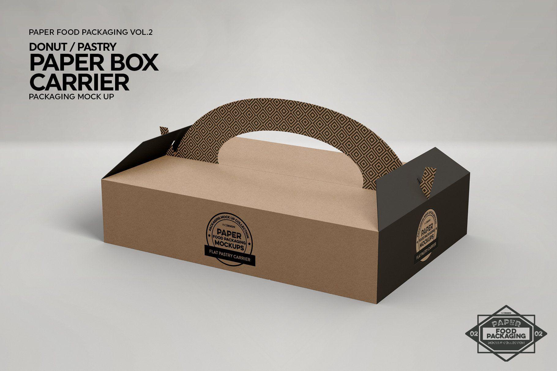 Download Vol 2 Food Box Packaging Mockups Free Packaging Mockup Packaging Mockup Design Mockup Free