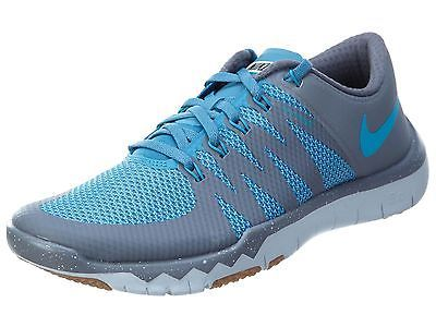 eda694d4612ae Nike Free Trainer 5.0 V6 Mens 719922-044 Cool Grey Blue Training Shoes Size  9.5