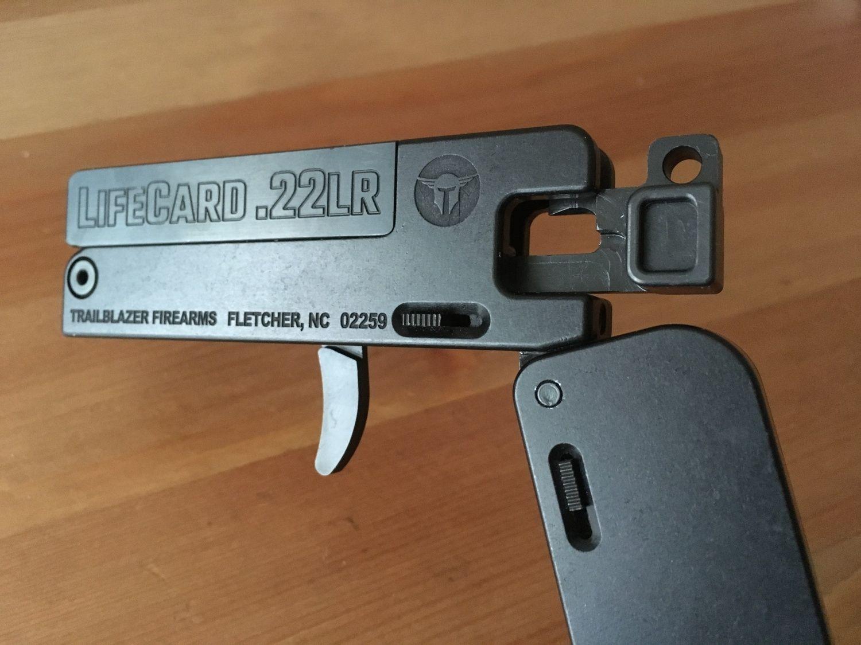 Review LifeCard 22 A Folding .22LR Handgun The