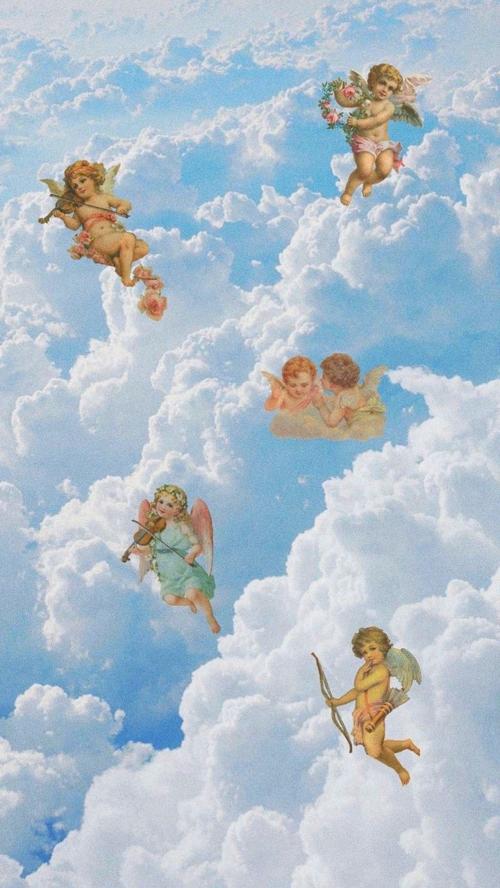 Iphone Wallpaper Angel Wallpaper Aesthetic Wallpapers Art Wallpaper Iphone