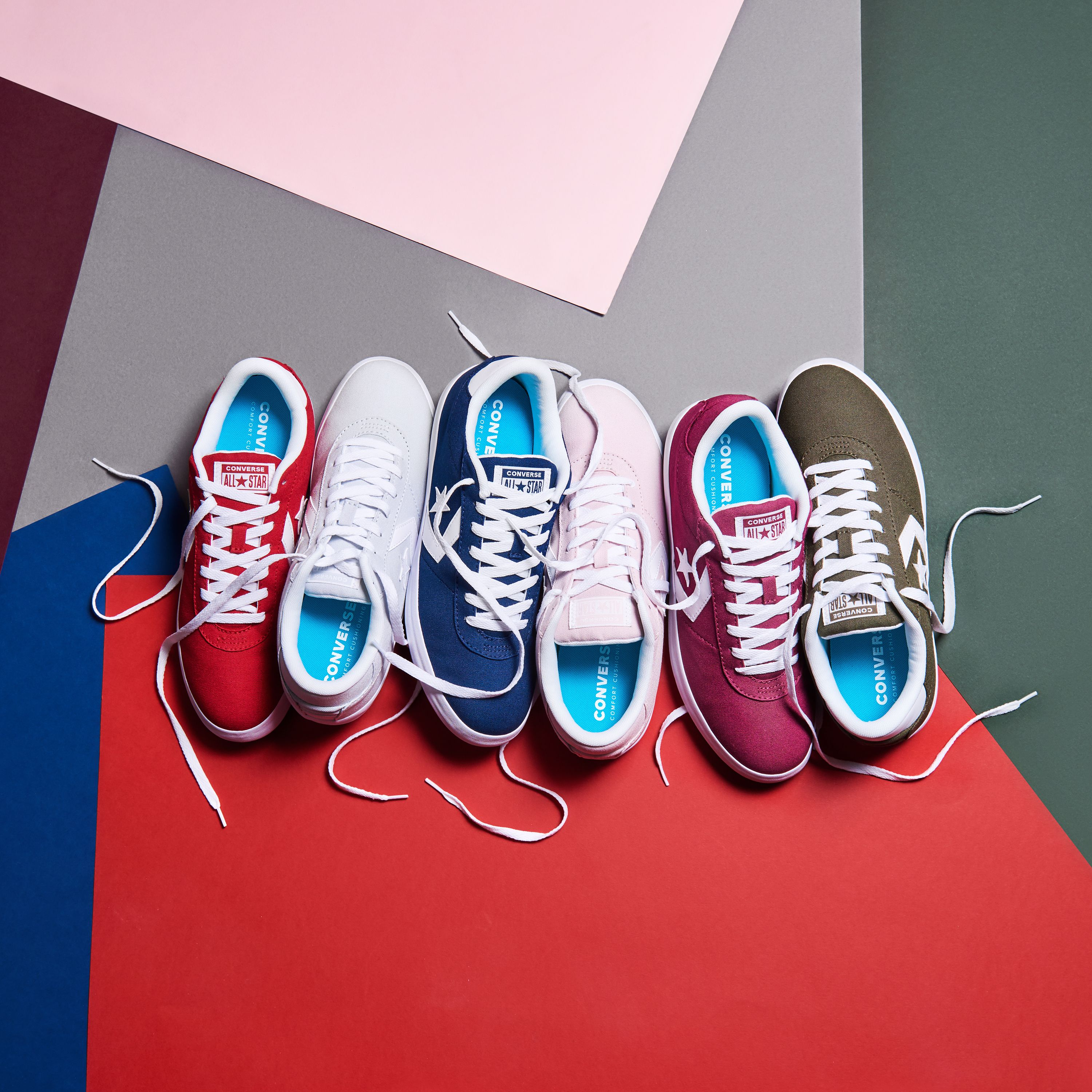 bbeac2cf12f The Converse Point Star trainers come in every single colour