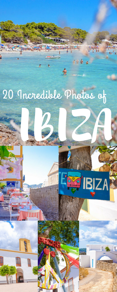 A photo journal of 20 colourful Ibiza photos to help inspire your travel planning to this gorgeous island!