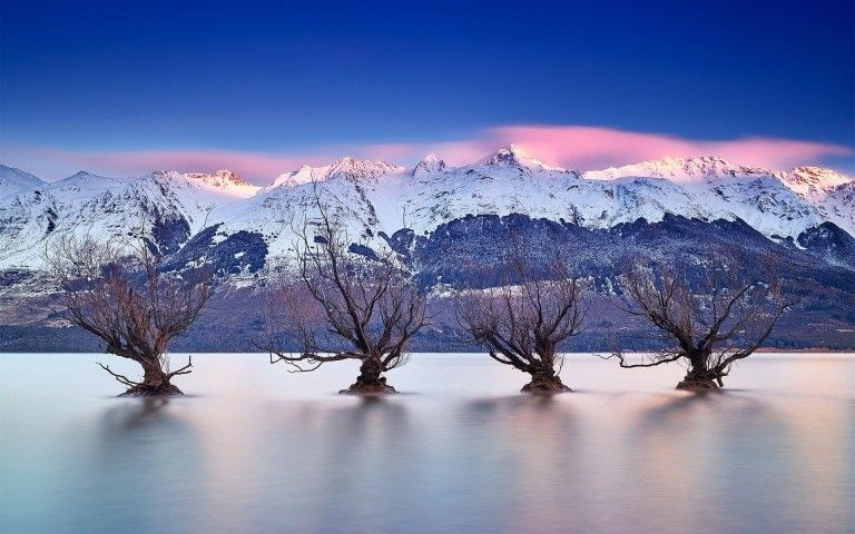 Nouvelle Zelande Wallpaper: Lake Wakatipu Queenstown New Zealand