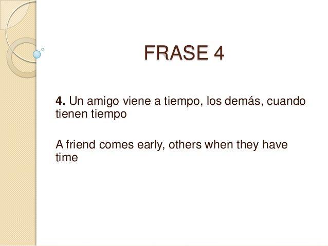 Frases En Ingles Traducidas A Espanol N Frases En Ingles