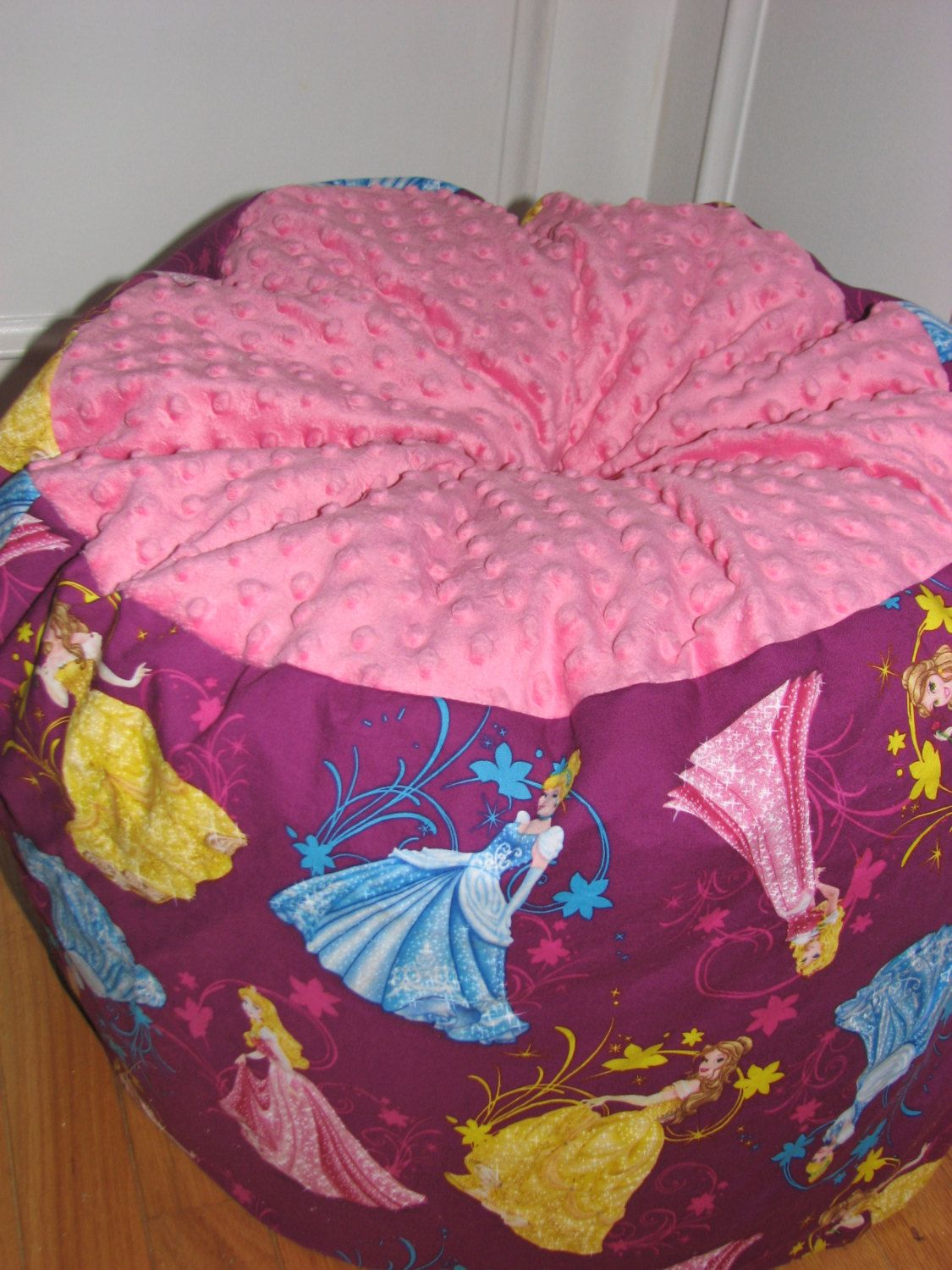 disney princess bean bag chair for kids ages 8 by beanbagsgalore