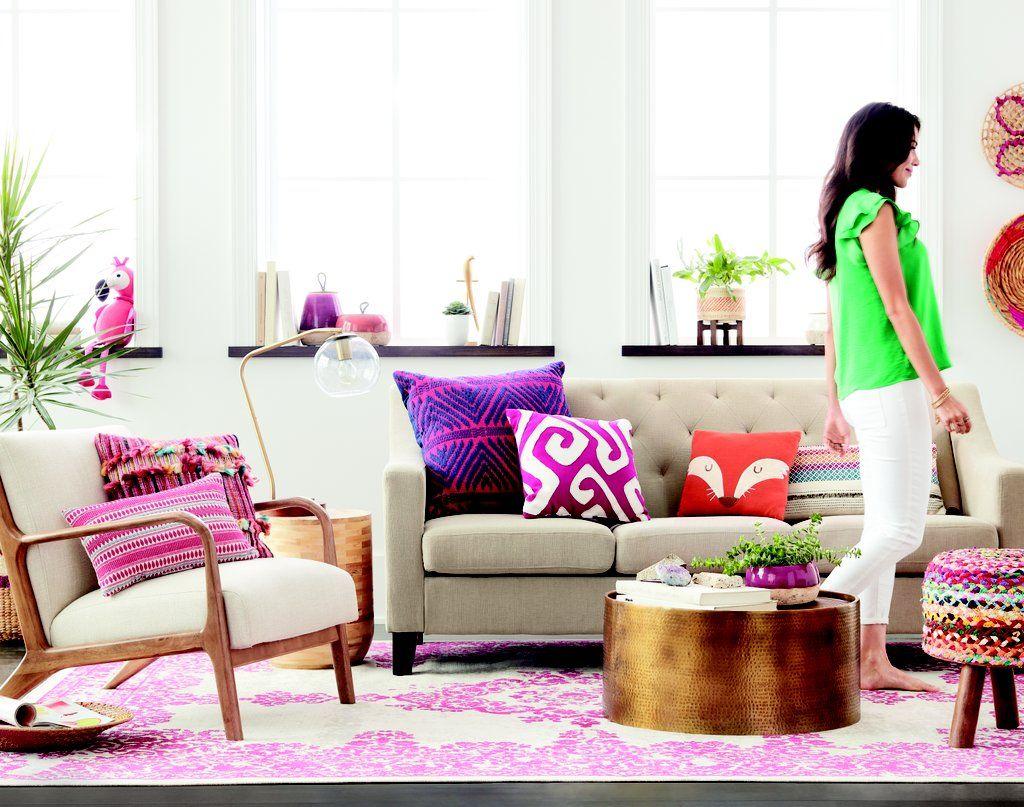 Boho Bright Living Room
