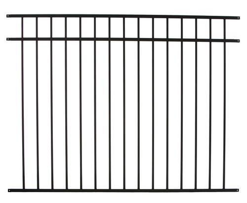 Ez Fence Asbury 4 6 Quot X 6 3 Rail Aluminum Fence Panel