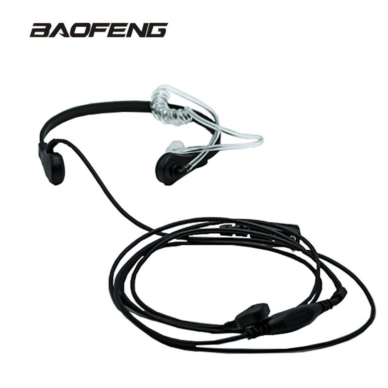 New Brand Throat Microphone Throat Vibration Headset For Two Way