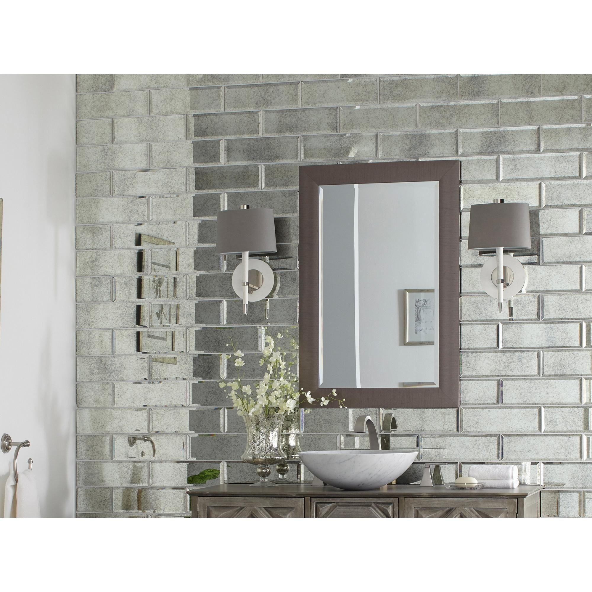 Antique mirror glass tile antique mirror glass decorative accents antique mirror glass tile dailygadgetfo Gallery