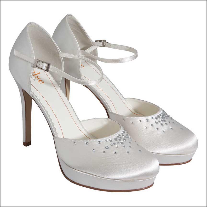 Else By Rainbow Club Margarita Dyeable Wedding Shoes