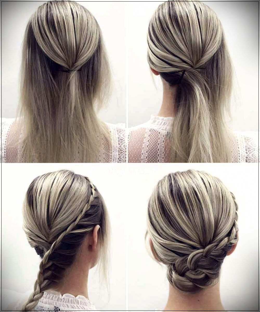 20 Inspiration Low Bun Hairstyles For Wedding 2019 2020: Hairstyles With Braids 2020: 150 Beautiful Ideas And