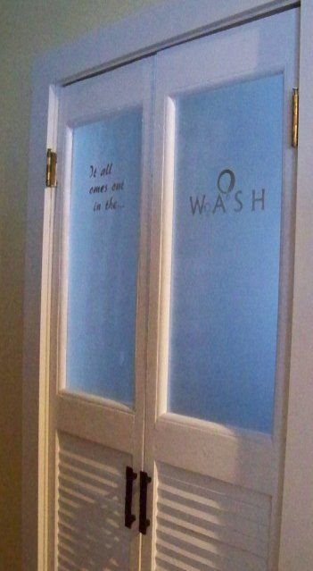 vented door for pantry?   rooms :: pantry   Laundry room