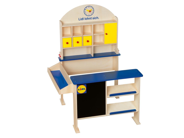 Playtive Junior Kaufladen 1 Kaufladen Gartentisch Holz Und