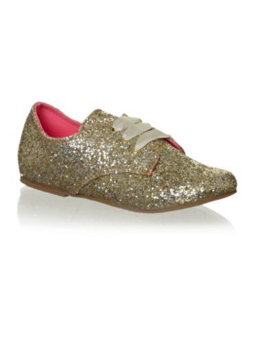 Billieblush Girl`s glittery shoe Yellow