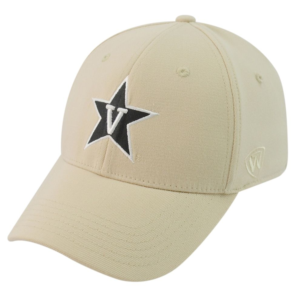 check out 2a490 575e6 Adult Top of the World Vanderbilt Commodores One-Fit Cap, Men s, Gold