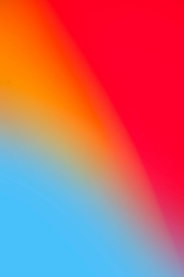 Download Vivid Rainbow Colors In Gradient for free