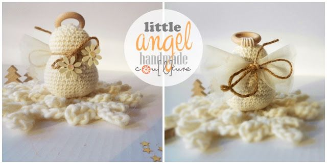 Tutorial Angioletto Amigurumi : Tutorial per fare un angelo amigurumi per natale angels