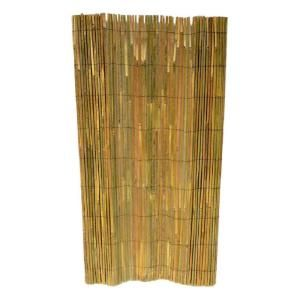 Mgp 71 5 In H X 168 In W X 1 2 In D Bamboo Slat Garden Fence Sbf 96 The Home Depot Bamboo Fence Garden Fence Panels Willow Fence Panels