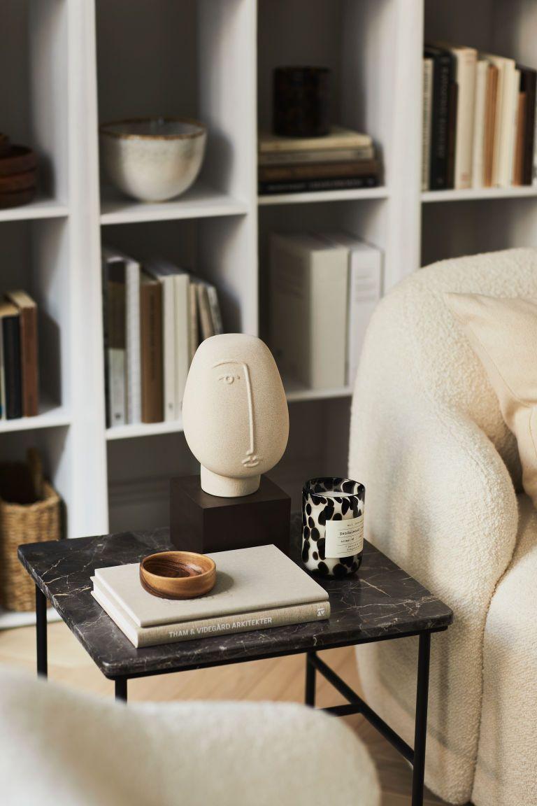 Photo of Ceramic Sculpture – Light Beige / Face – Home All | H – Exterior Hogar Ideas