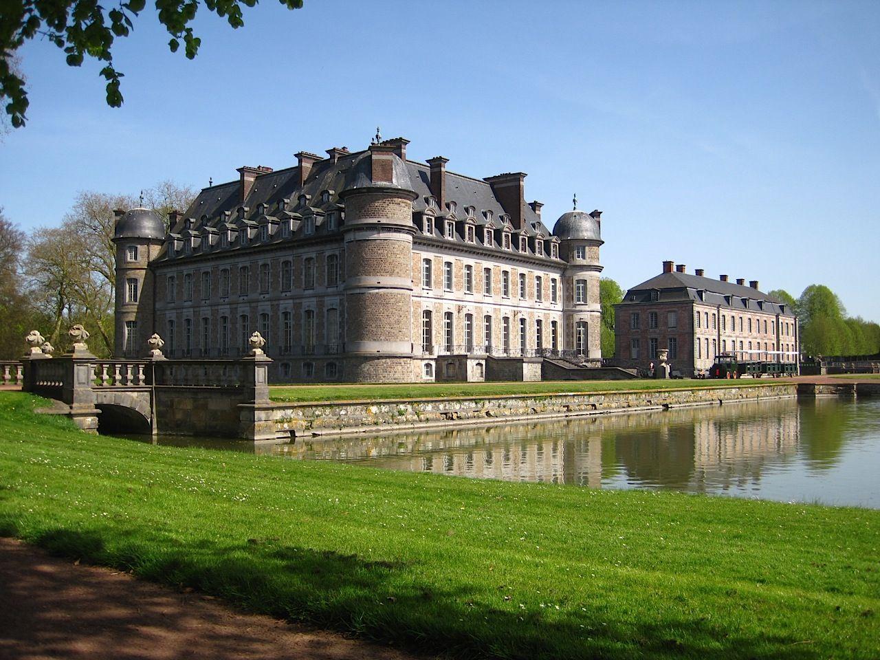 Замъкът Бельой в белгийската провинция Ено.
