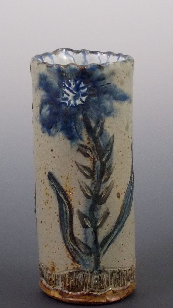 Small 5 Pottery Bud or Flower Vase by Ellison Bay Pottery $48.00