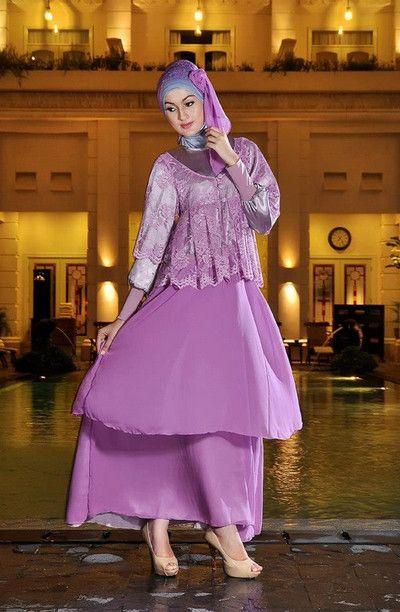 5 Model Gamis Brokat Dian Pelangi - Trend Baju Muslim Modern - Gamis brokat dulu dikenal sebagai model baju tradisional yang