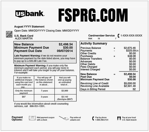 Charge On My Card - Unknown Charges Explained: FSPRG COM