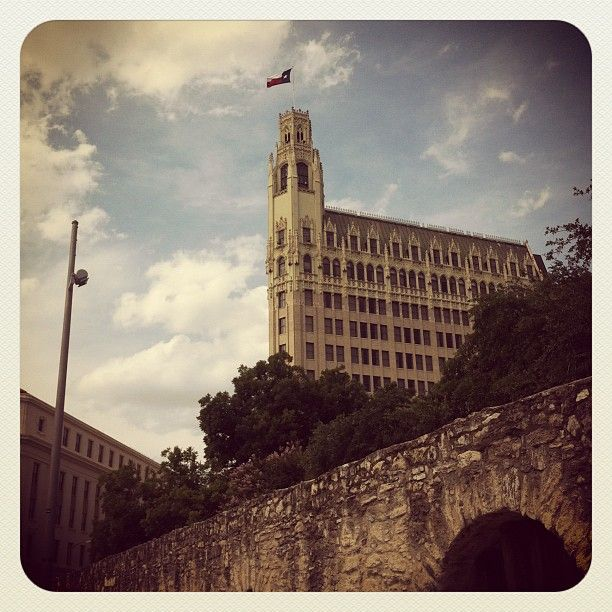 Haunted Abandoned Places In San Antonio: View Of The Emily Morgan Hotel From The Alamo In San