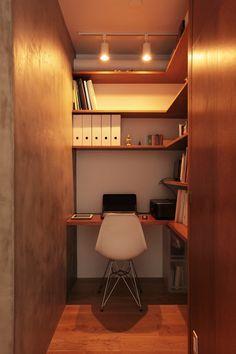 狭いからこそ落ち着く 書斎は大人の秘密基地 Suvaco スバコ インテリア 収納 家 インテリア