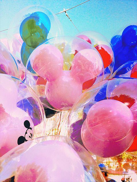 Disney Balloons, via Flickr.