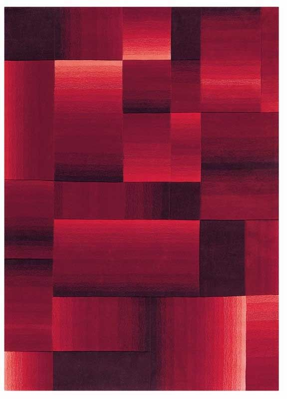 Alfombra Moderna Digiworld Roja Casa ideal Pinterest Alfombra