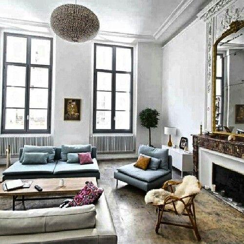 Chez Clemence A Montpellier Vintage Modern Living Room Living Room Interior Home