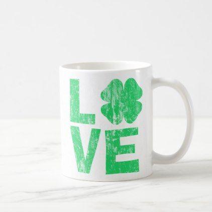 #vintage - #St Paddy Love DS Coffee Mug