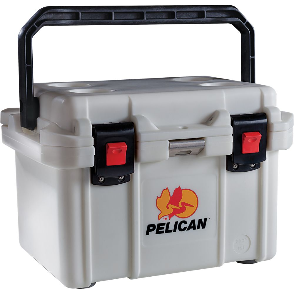 Pelican Progear 20 Quart Elite Cooler White Boat Parts For Less Cooler Pelican Cooler Camping Cooking Utensils