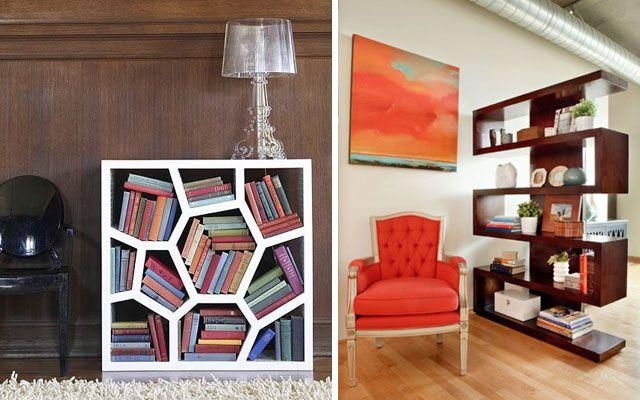 Decofilia blog 50 ejemplos para decorar con estanter as for Estanterias originales