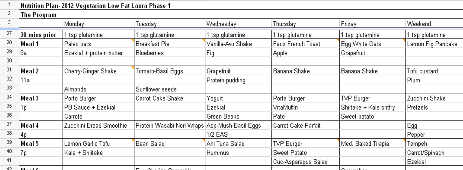Week Diet Plan   Week Diet Plan  Fitness Health Info Fitness