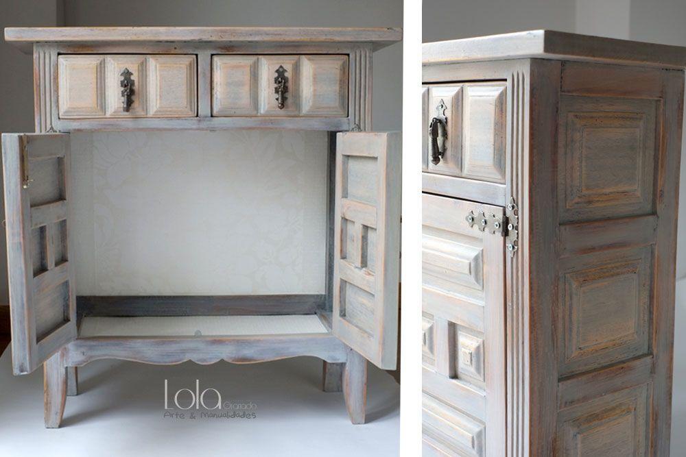 Muebles restaurados castellanos muebles restaurados y for Mueble castellano restaurado