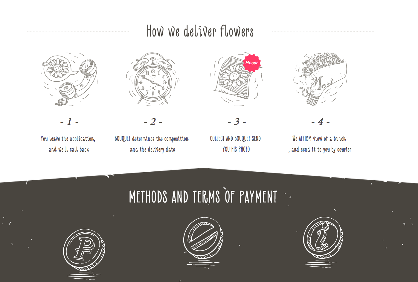 Illustrations from Meshel Flowers | PatternTap | ZURB Library