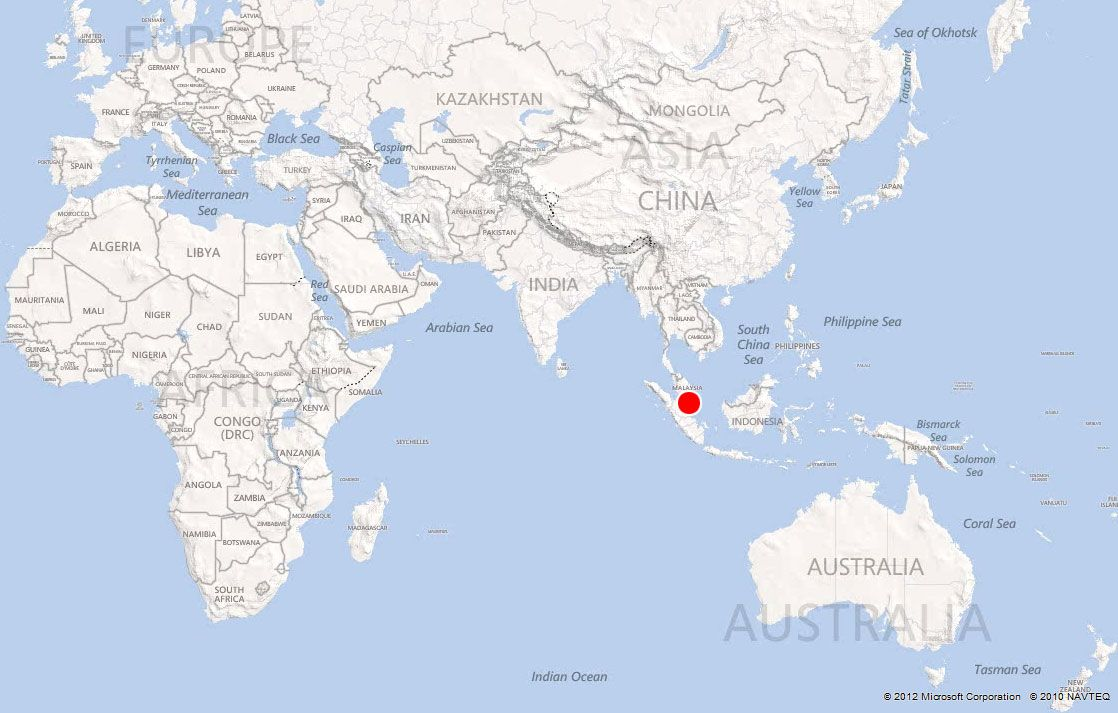Where Is singapore On the Map | to see singapore on the map it is ...