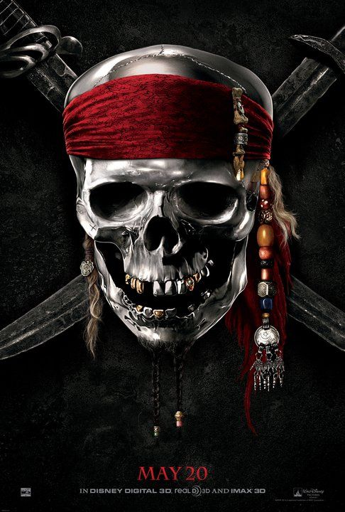 Calavera 052 Pirates Of The Caribbean Piratas Del Caribe
