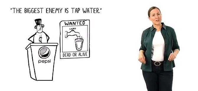Asi Es Como Tiene Lugar El Robo Mundial Del Agua Agua Embotellada Agua Robo
