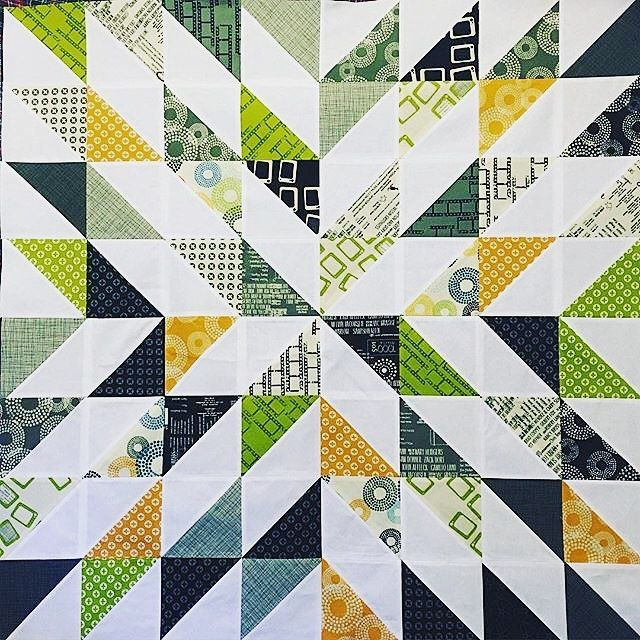 Wow, look at this Starburst Quilt from our tutorial this past ... : starburst quilt - Adamdwight.com