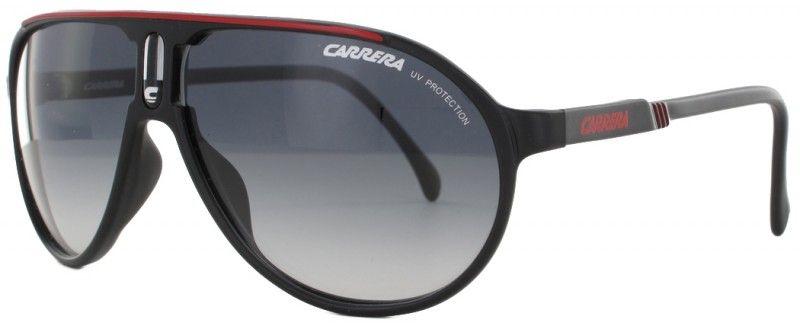 La Champion-SML est une lunette de soleil de marque Carrera en acétate  noir, équipée de verres dégradés de catégorie 2. cbbba5df5cdc