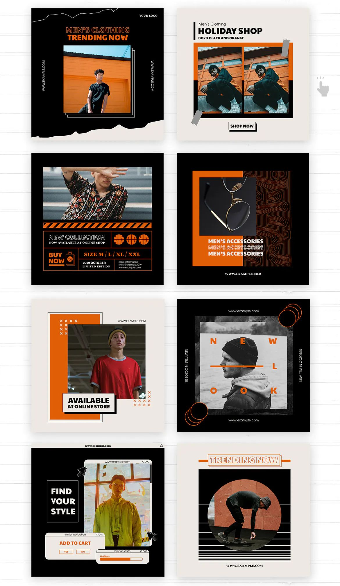 Retro Social Media Graphic Templates Social Media Design Graphics Social Media Design Inspiration Social Media Design